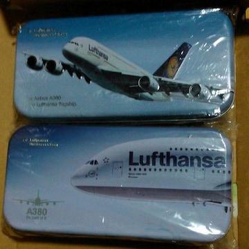 Lufthansaルフトハンザアメニティ缶A380就航記念2個