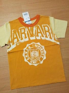 新品リメイク風カレッジロゴTシャツ140ジャンクストアーJUNK STORE