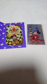 東京ディズニーランド  テレホンカード二枚