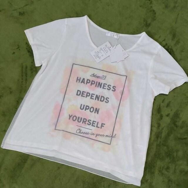 新品タグ付き♪レディースTシャツ トップス  < 女性ファッションの