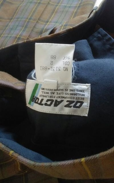 OZ ACTOR チェック 美品 スラックス サイズ88 < 男性ファッションの