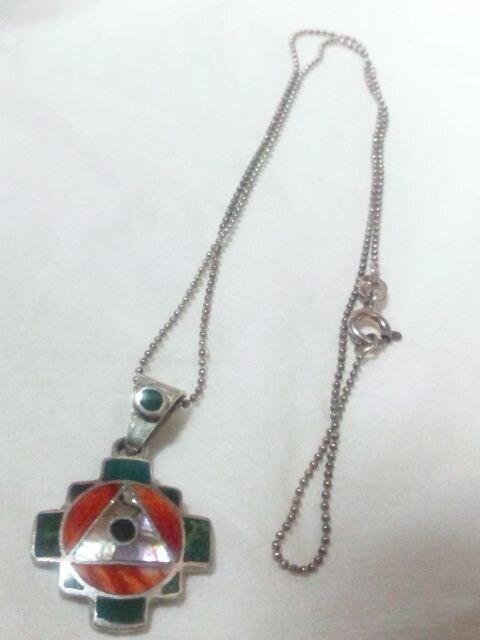SILVER 925 AG950 シルバー ネックレス < 女性アクセサリー/時計の