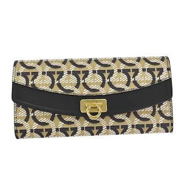 ◆新品本物◆サルヴァトーレフェラガモ 長財布(BE)『22D877』◆