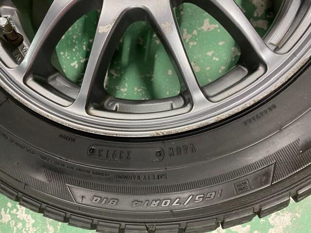 1082753激安国産グッドイヤ-スタッドレスタイヤアルミホイ-ルセット165/70R14送料無料 < 自動車/バイク