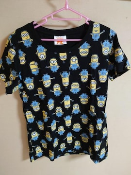 新品 ユニクロ ミニオン Tシャツ サイズL