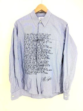 RESERVED NOTE(リザーブドノート)/LYRICS SHIRTシャツ