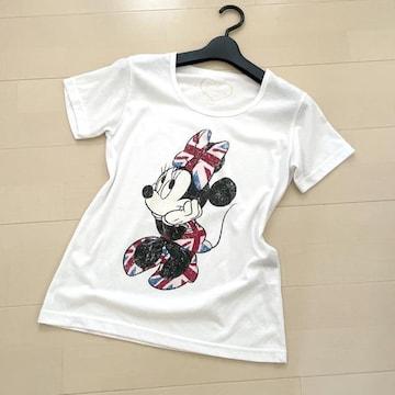 ミニーマウス 半袖Tシャツ カットソー