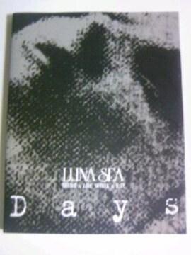Days LUNA SEA /V系 ヴィジュアル系バンド ルナシー 写真集 デイズ フォトブック