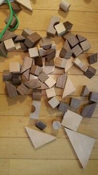 木製の積み木