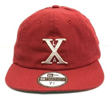 XLARGE×NEWERAエクストララージクーパーズタウンコラボキャップ