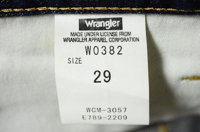 W29 Wrangler ラングラー W0383-201 ふつうのストレート < ブランドの