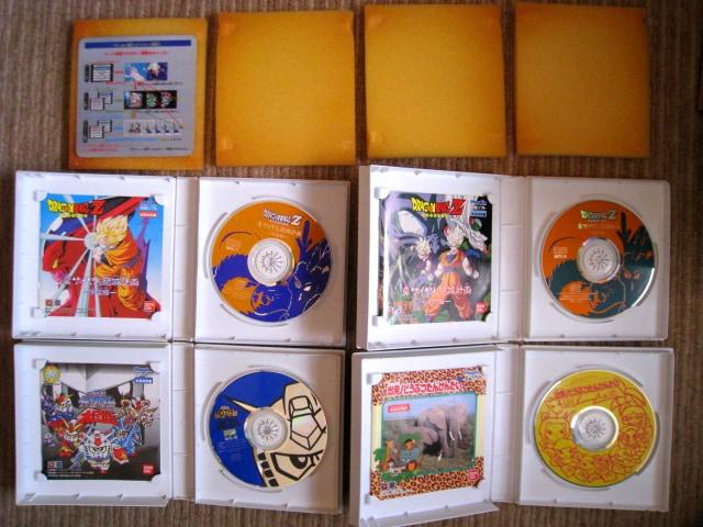 Playdia プレイディア ソフト6本 ジャンク < ゲーム本体/ソフトの