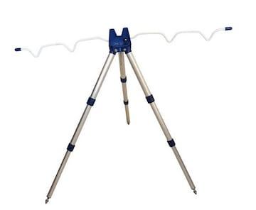 新品 ロッドホルダー 4本  青  高さ55〜120cm