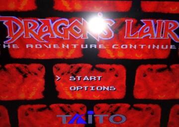 DRAGONS LAIR カセット+ケースのみ GENESISカセット