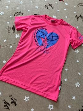 S051/MiZUNO/Lサイズ/ピンク/ディジー/Tシャツ/