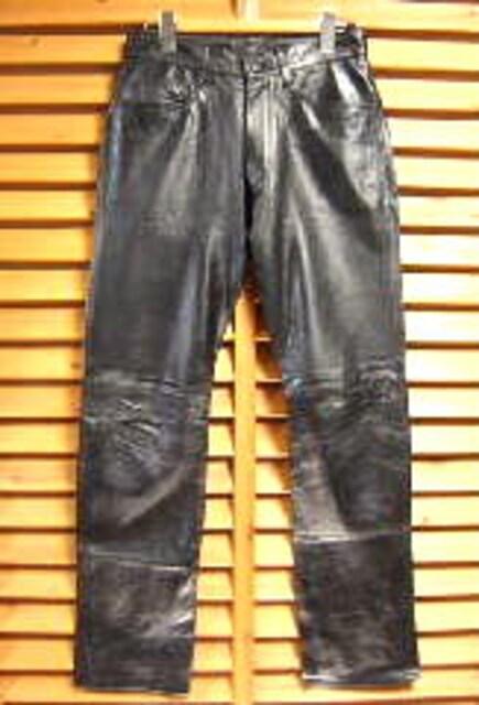 COMME CA DU MODE コムサデモード 革パン レザーパンツ  < 男性ファッションの