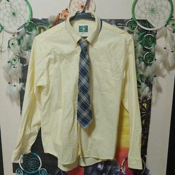 冠婚葬祭□フォーマル□ネクタイセット□カラーワイシャツ□160