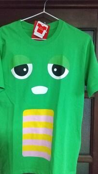 Mサイズ!ガチャピン!ゆるかわいい!紳士!男性サイズ!半袖Tシャツ!新品!