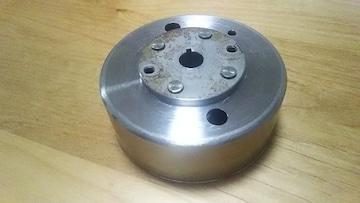 [AO9]アドレスV100前期型用中古ベース 軽量発電アウターローター