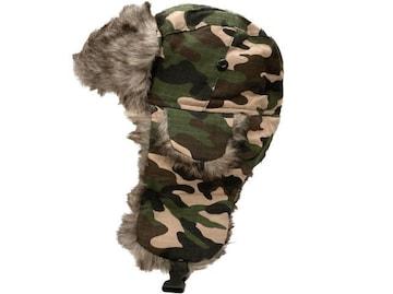 N799 飛行帽 パイロット 防寒 アビエイター cap 帽子 Como