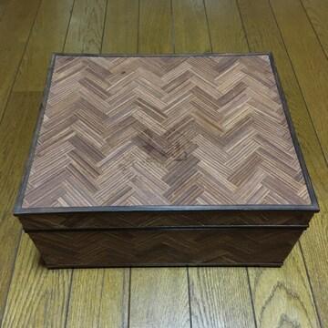 激レア ラルフローレン 緻密木組 ウッドシガーボックス 小物入れ