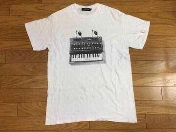中古アンダーカバーMシンセサイザーTシャツ汚れあり