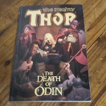 古本 The mighty Thor THE DEATH OF ODIN