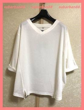 ☆今期新品☆美スタイル♪オーバーサイズ7分袖カットソーLL☆