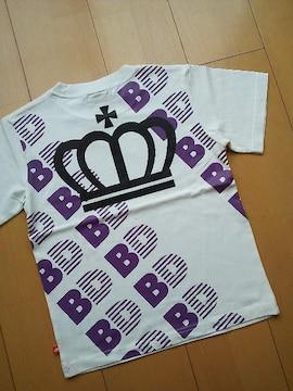 新品斜めロゴTシャツ120白ベビードールBABYDOLLベビド