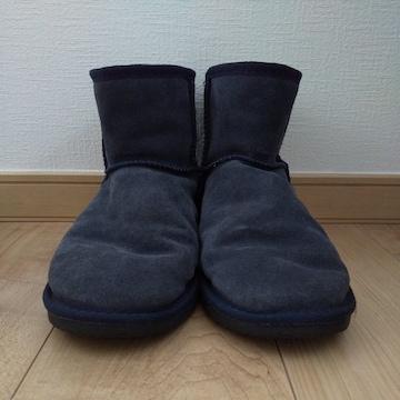 emu ネイビー ムートンブーツ 25cm