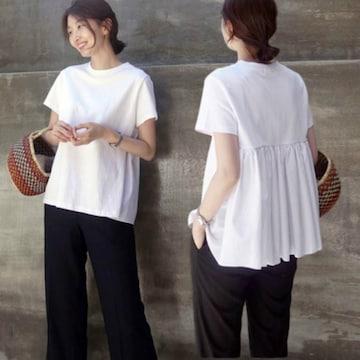 Y022即決 新品 Tシャツ カットソー 白 M イング GU マウジー ザラ 好きに