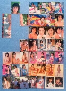小向美奈子 カード 42枚 セット ビキニ グラビア 撮影 トレカ