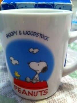 スヌーピーのマグカップ♪(新品同様)