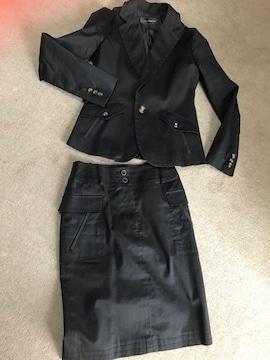 インタープラネット??スーツ レディース 黒 38