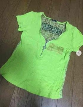 アナップ系 背中レースTシャツ