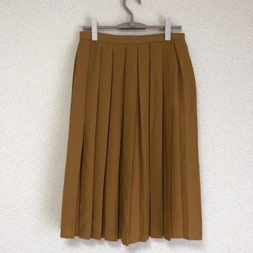 ジーユー大きいサイズ新品 ミモレ丈プリーツスカート XLサイズ●
