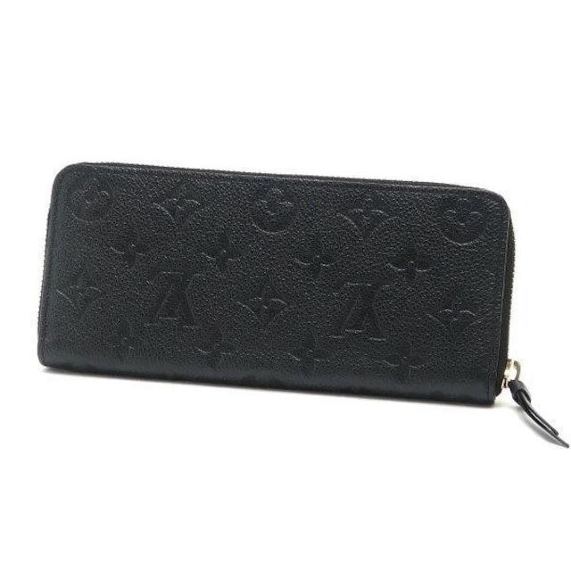 本物新品同様◆ヴィトン【モノグラムアンプラント黒】長財布袋箱 < ブランドの