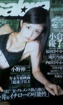 レア?2003年の小倉優子特集「sabra