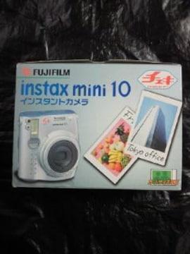 FUJIFILM 富士フィルム インスタント カメラ チェキ instax mini 10 箱付き
