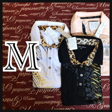 M・ポロシャツ3点セット新品/MCAc307-004s
