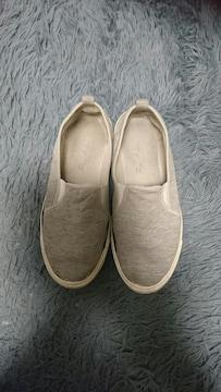 スリッポン靴