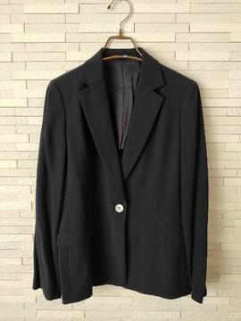 BURBERRY LONDON テーラードジャケット 毛 フォーマル 紺 40