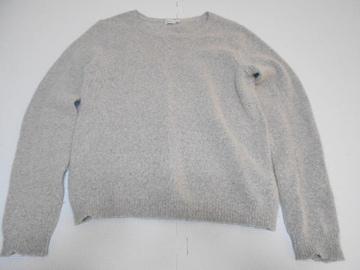 衣類 レディース Mサイズ 長袖セーター グレー