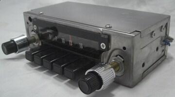 珍品アナログAMカーラジオ希少5局プリセット未使用1027
