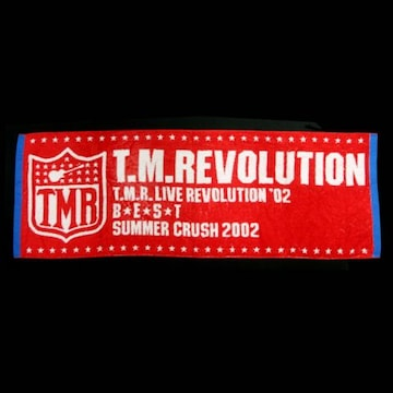 ☆【T.M.Revolution】SUMMER CRUSH 2002 スポーツタオル