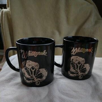 マグカップ2個セット #ホワイトスネイク#whitesnake