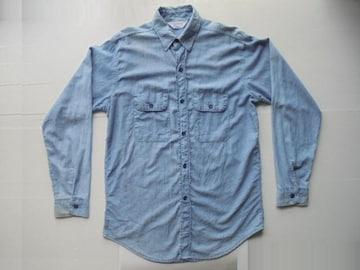 70-80's FIVE BROTHERファイブブラザーシャツシャンブレーUSA製M