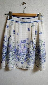 LAISSE PASSE★レッセパッセ☆花柄スカート☆