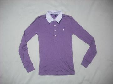 wr534 女 Ralph Lauren ラルフローレン 長袖ポロシャツ XSサイズ