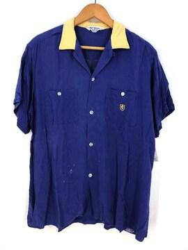 NAT NAST(ナットナスト)プリントタグボーリングシャツボウリングシャツ
